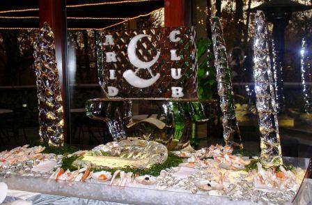 Arid Ice Logo Seafood Bar
