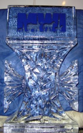 Ice Logo & Pedestal