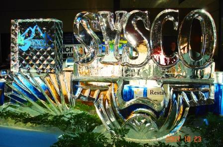 Sysco Food Show Ice Logo