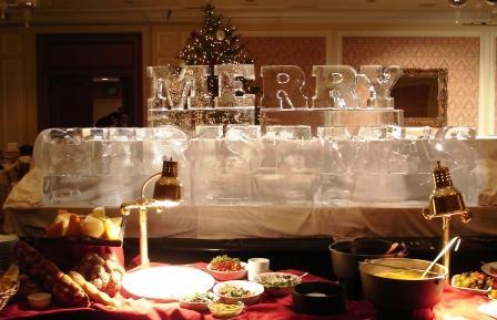 Ice Merry Christmas