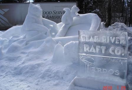 Bear Rafting