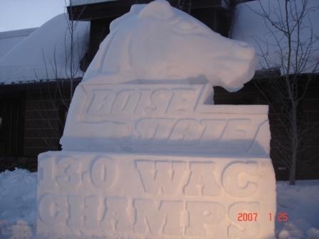 Snow Broncos 13-0
