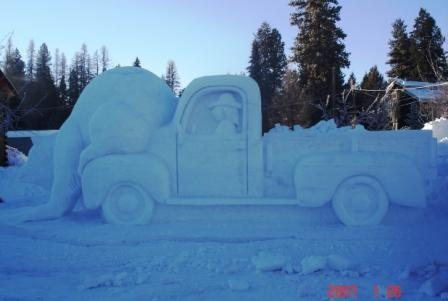 Snow Bear Truck