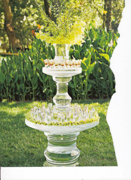 Three Tier with Vase