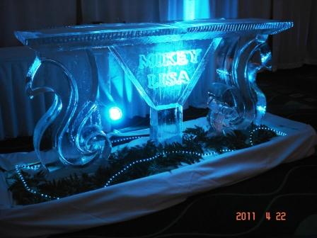 Bar in Ice